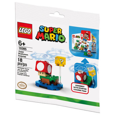 LEGO樂高 30385 超級蘑菇磚塊組