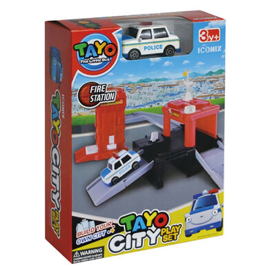Tayo小巴士城市系列 - 迷你世界消防站