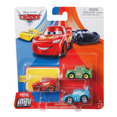 Cars汽車總動員-迷你小汽車3架裝