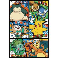 Pokemon寶可夢300片盒裝拼圖(D)