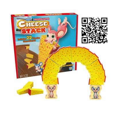 Mattel Games美泰兒遊戲 鼠王起司疊疊樂