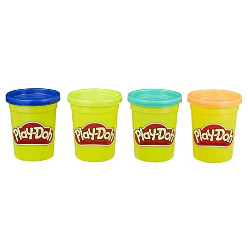 Play-Doh培樂多 四色組補充罐-隨機出貨