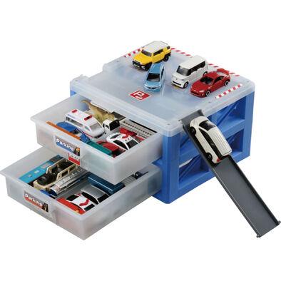 Tomica多美小汽車 新停車場提盒
