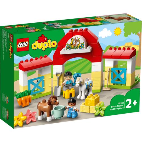 Lego樂高 Duplo Town 10951 馬廄 & 小馬照護站