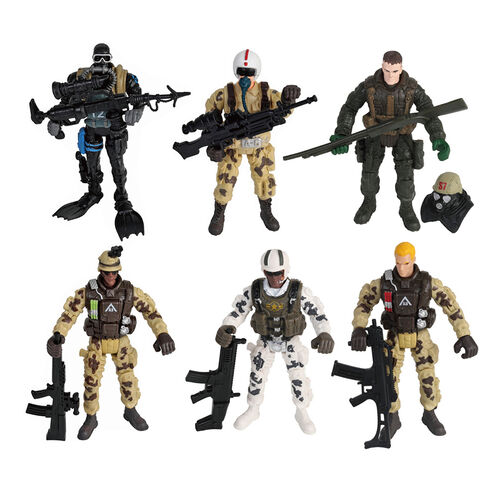 Rescue Force 軍事人物組- 隨機發貨
