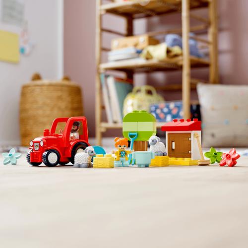 Lego樂高 Duplo Town 10950 拖拉機 & 動物照護中心