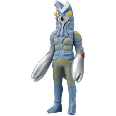 Ultraman超人力霸王怪獸軟膠 巴爾坦星人