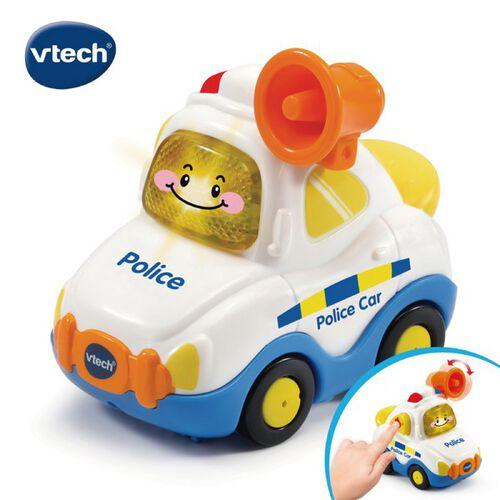 Vtech嘟嘟聲光互動車-警車