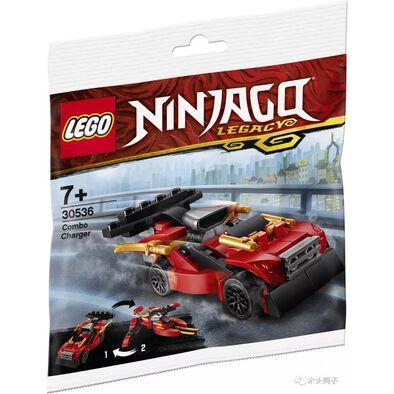 LEGO樂高旋風忍者系列 限量貼紙及忍者衝鋒車贈品包