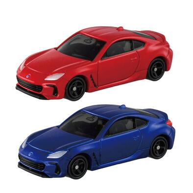 Tomica多美 No.028 Subaru BRZ(一般及初回要一起購買) 下單請下2台
