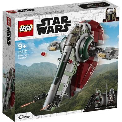 Lego樂高 75312 Boba Fett's Starship™