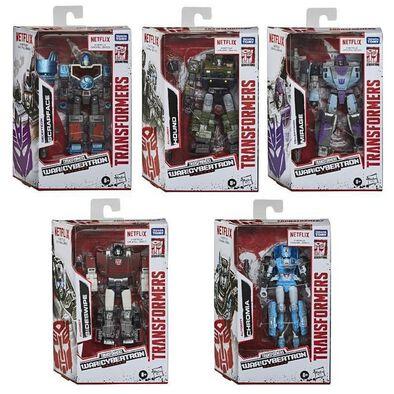 Transformers變形金剛世代系列塞伯坦之戰N豪華戰將組 - 隨機發貨