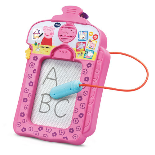 Vtech 粉紅豬小妹-音樂字母感應學習畫板