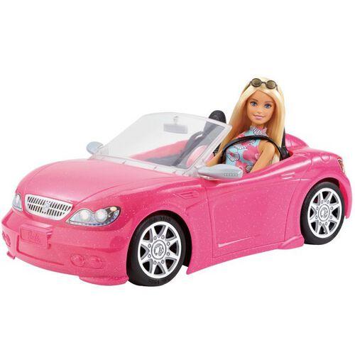 Barbie芭比跑車(附娃娃)