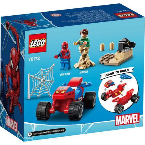 LEGO樂高 76172 Spider-Man and Sandman Showdown
