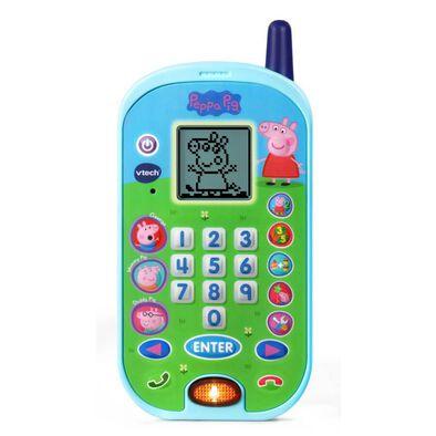 Vtech Peppa Pig粉紅豬小妹-智慧學習互動小手機