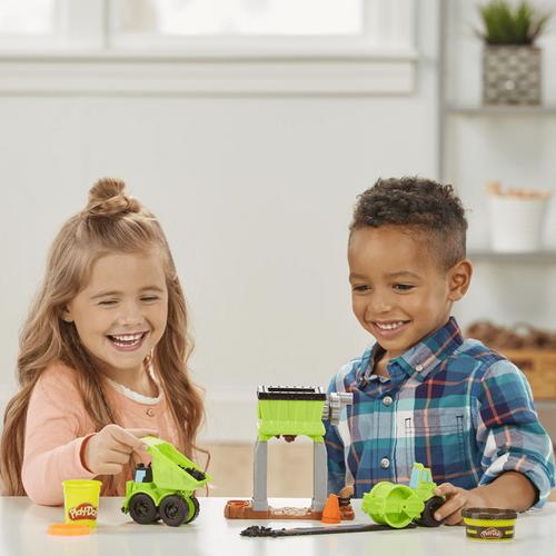 Play-Doh培樂多 車輪系列 碎石場遊戲組