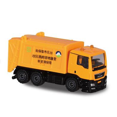 Majorette美捷輪小汽車國際款-台灣限定垃圾車款