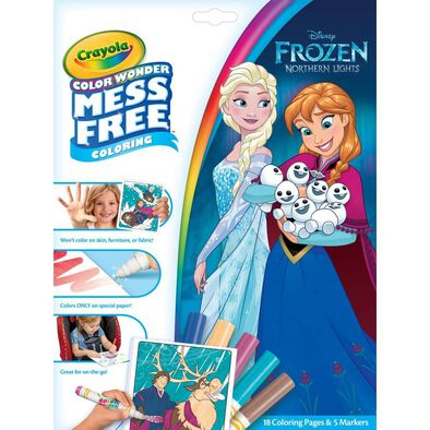 Crayola繪兒樂 神彩著色套裝-Disney Frozen迪士尼冰雪奇緣