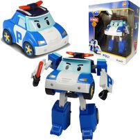 Robocar Poli波力救援小英雄 Led變形系列-波力