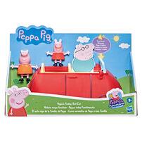 Peppa Pig粉紅豬小妹 佩佩家的小紅車