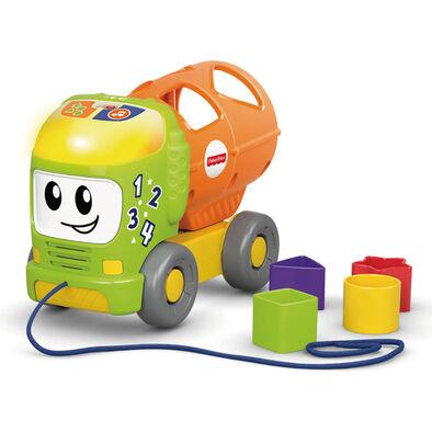 Fisher-Price費雪 聲光學習小卡車