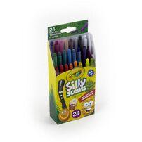 Crayola繪兒樂白日夢趣味迷你旋轉蠟筆24色