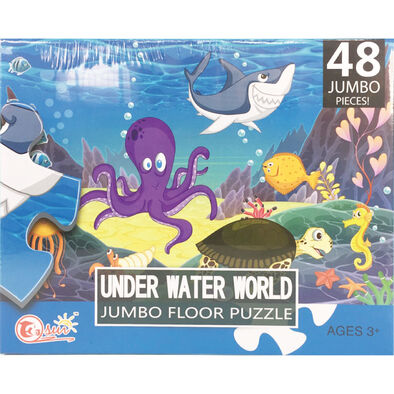 Tai Sing大生 Under Water World Jumbo Floor Puzzle海底動物拼圖