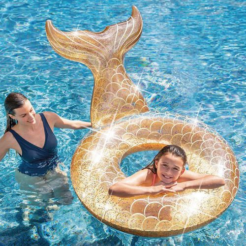 Intex美人魚泳圈