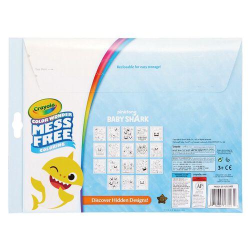 Crayola繪兒樂 神彩著色套裝-鯊魚寶寶(紙盒)