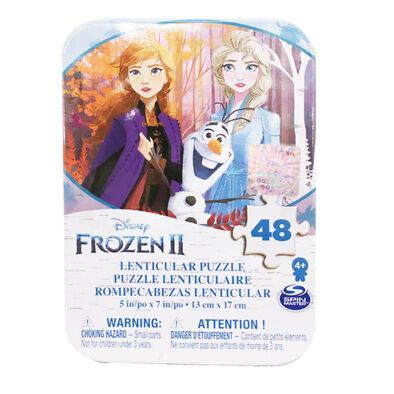 Disney Frozen迪士尼冰雪奇緣迷你鐵盒拼圖