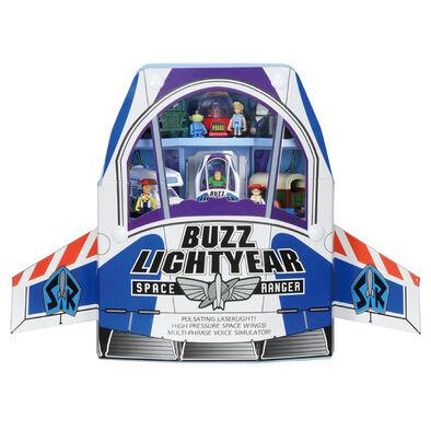 Toy Story玩具總動員4 Tomica多美巴斯光年宇宙船提盒組