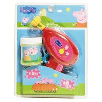 Peppa Pig粉紅豬小妹peppa Pig 佩佩豬免電池泡泡槍