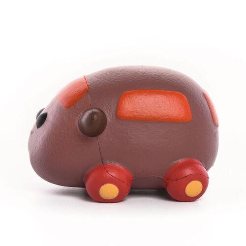 Pui Pui Molcar紓壓公仔-天竺鼠小車車/泰迪