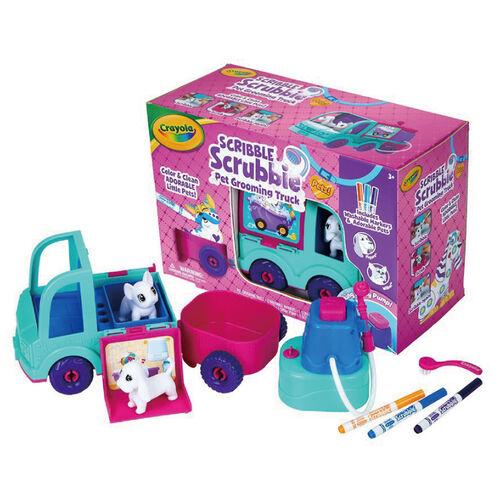 Crayola繪兒樂彩繪百變寵物美容胖卡車