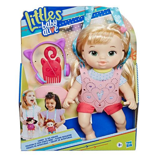 Baby Alive淘氣寶貝 Baby AliveBaby Alive淘氣寶貝背帶娃娃金髮