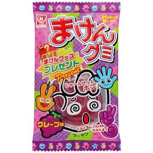 Sugimotoya杉本屋 趣味猜拳橡皮糖 葡萄