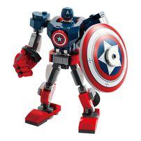 LEGO樂高 76168 Captain America Mech Armor