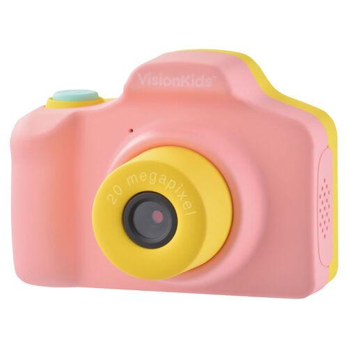 日本Vision Kids HappiCamu+ 2000萬像素可拍照兒童數位相機-粉紅色