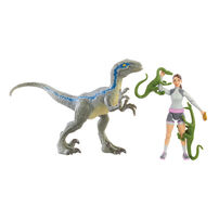 Jurassic World侏羅紀世界恐龍與人物組- 隨機發貨