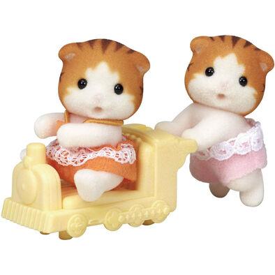 Sylvanian Families森林家族 楓糖貓雙胞胎