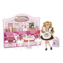 Licca莉卡娃娃 Hello Kitty粉紅甜點屋