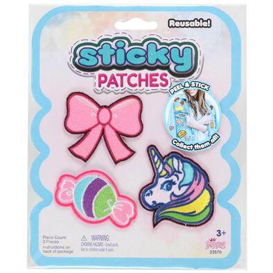 Sticky Patches黏黏補丁 DIY糖果結紡織布貼