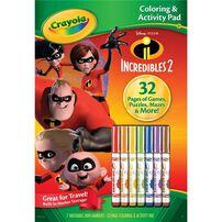 Crayola繪兒樂紙本&7色著色筆