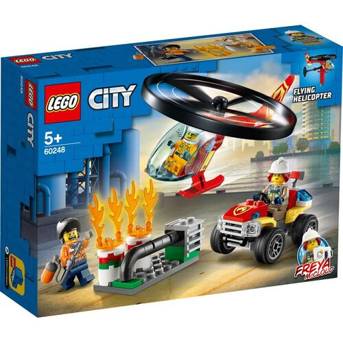 LEGO樂高城市系列 消防直升機 60248