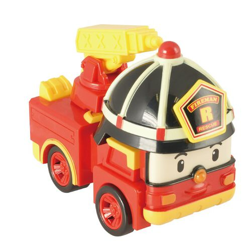 Robocar Poli波力救援小英雄 Led變形系列-羅伊