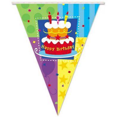 Kord生日派對三角掛旗