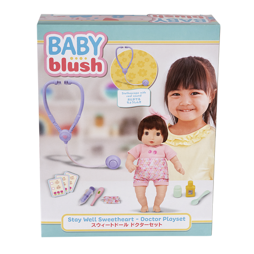 Baby Blush 13吋甜心娃娃醫生組