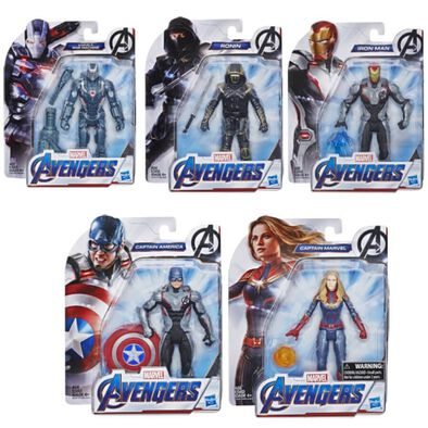 Marvel漫威復仇者聯盟四6吋人物組 - 隨機發貨