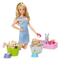 Barbie芭比照護寵物組